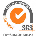 SGS ISO14001 Accreditation