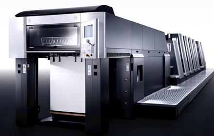 A first for UK lithographic printing