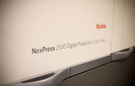 Digital printing with Kodak Nexpress SE2500 arrives at Lemon Press