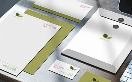 3 Simple Steps for Letterhead Design